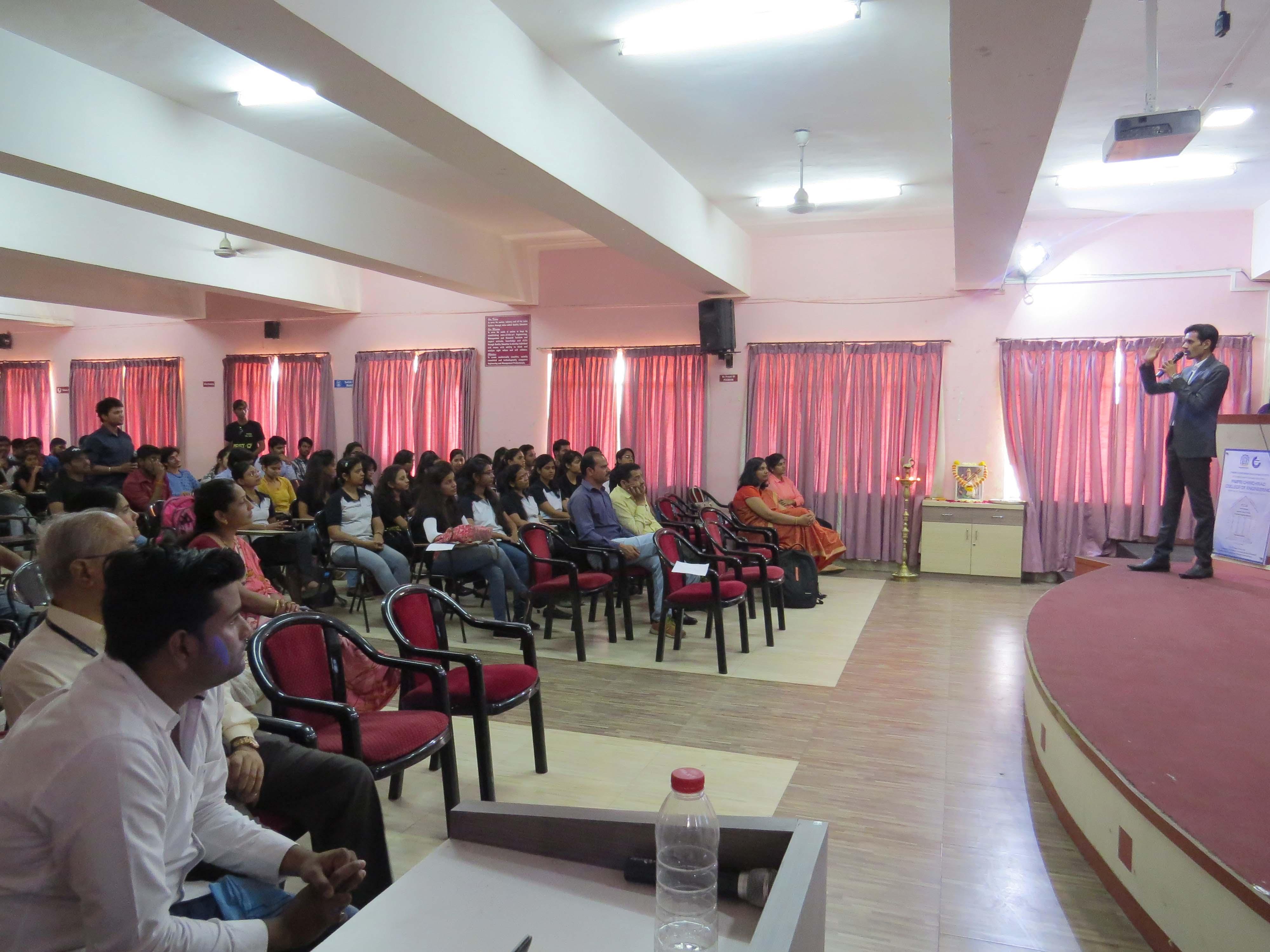 Seminar at PCCOE Pune